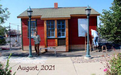 Evolution of EH Train Depot